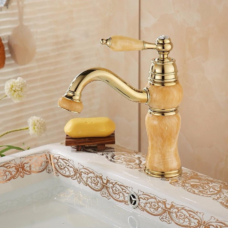ETERNAL QUALITY Badezimmer Waschbecken Wasserhahn Messing Hahn Waschraum Mischer Mischbatterie Tippen Sie auf die Wasserhhne voll Kupfer Kaltes Wasser Badezimmer Schrank