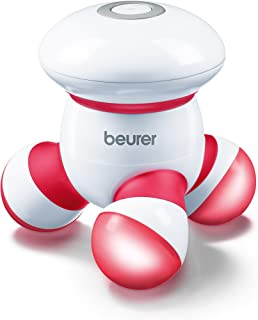 Beurer MG16 Handheld Mini Body Massager with LED light, Gentle and Comfortable Vibration, Easy Hand Grip, Battery Operated, Gentle Vibration