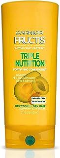 Garnier Fructis Triple Nutrition Conditioner, Dry to Very Dry Hair, 21 fl. oz.