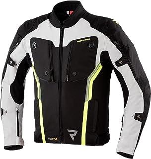 Rebelhorn Borg Black/Grey/Flo Yellow Textile Motorcycle Jacket XS