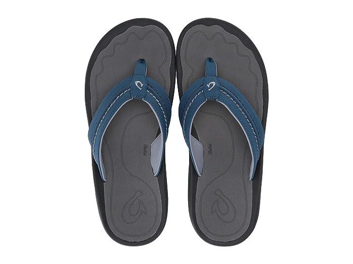 Hokua  Shoes (Slate Blue/Charcoal) Men's Sandals