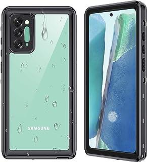 Ruky - Carcasa impermeable para Samsung Galaxy Note 20 de 6,7 pulgadas, color negro