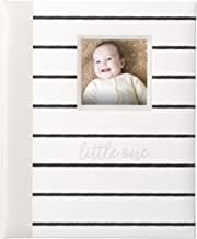 Kate & Milo Modern Stripe Baby Book, Capture and Cherish Every Precious Moment Of Your Babys First Years, A Great Baby Registry Addition For Your New Baby, Gray