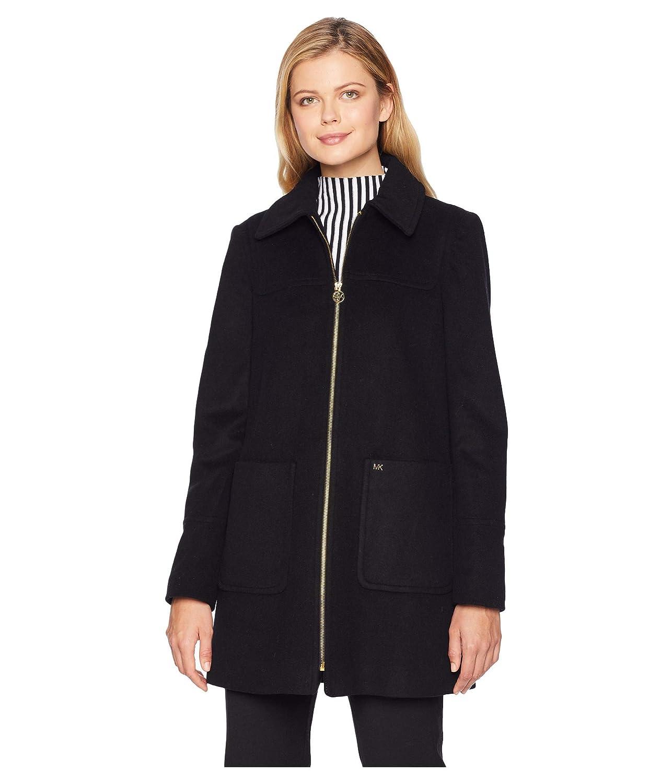 [マイケルコース] レディース コート Zip Front Wool with Patch Pockets M12382 [並行輸入品]