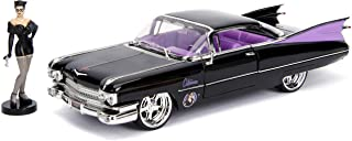 DC Comics Bombshells Catwoman & 1959 Cadillac Die-cast Car, 1:24 Scale Vehicle & 2.75