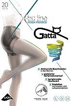 Gatta Body Relax Medica 20den Feinstrumpfhose mit Kompression graduierter Stützverlauf - gegen schwere Beine - Wellnessstrumpfhose