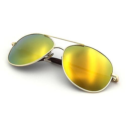 63c5ac2169 J+S Premium Military Style Classic Aviator Sunglasses
