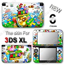 Super Mario 3D World SKIN VINYL STICKER DECAL COVER #1 for Original Nintendo 3DS XL