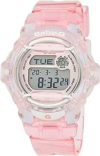 Casio Womens Quartz Watch, Digital Display and Plastic Strap BG169R-4CR