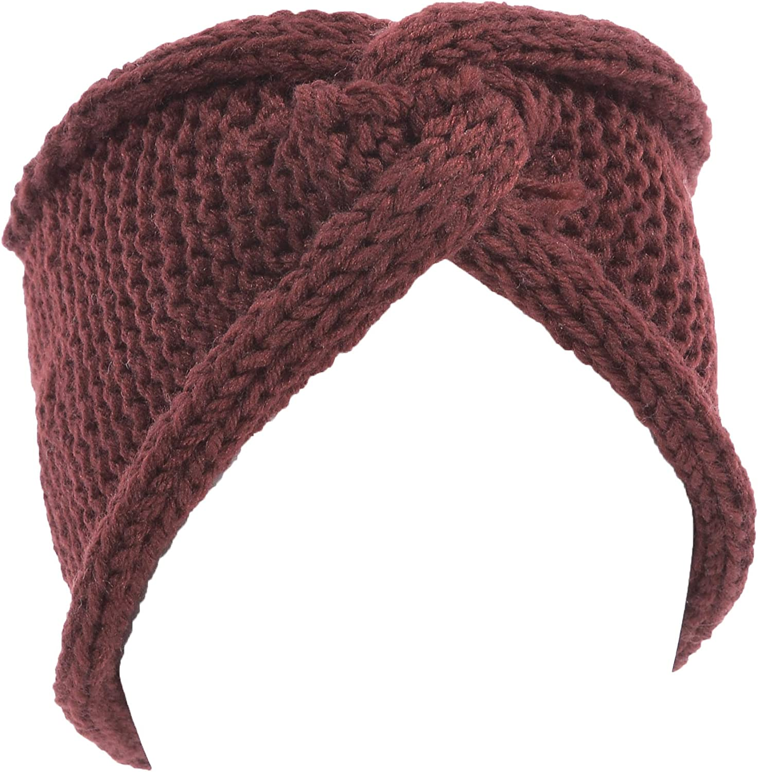 Hand By Hand Twist Knitted Headband Knot Headwrap Stylish Comfortable