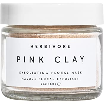 Herbivore - Natural Pink Clay Exfoliating Facial Mask | Truly Natural, Clean Beauty