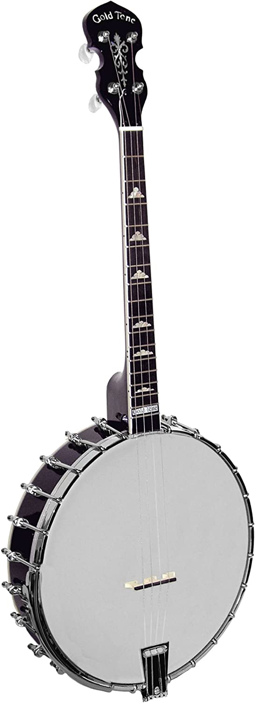 Gold Under blast sales Tone IT-250 Irish Tenor Import Vintage Banjo Brown