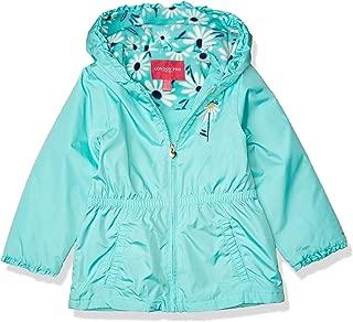 LONDON FOG Girls' Toddler Reversible Soft & Sensible Jacket Coat