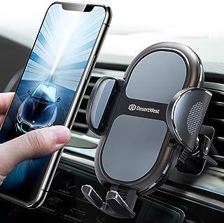 DesertWset Handyhalterung Auto Lüftung 【Dickeres Schützendes Silikon 】 2021 Neuest Upgrade Kfz Handyhalter für iPhone 12 12 Pro SE 11 11 Pro Max Samsung S20 Ultra S20 S10 Huawei Xiaomi usw.