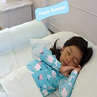 Simple Being Bed Rail Bumper Toddler, Baby, Child, Safety Guard Portable Non-Skid Sleep Guard Infants, Kids, Side Pillow Pad Travel Passive Protection (Standard Foam)