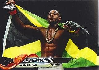 2018 Topps Chrome UFC MMA #13 Aljamain Sterling
