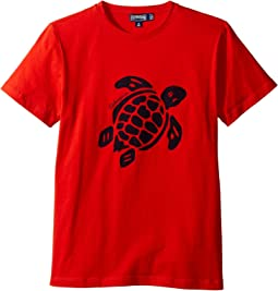 Vilebrequin Kids - Turtle Graphic Tee (Toddler/Little Kids/Big Kids)