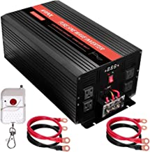 $326 » KRIPOL 3000 Watt Pure sine Wave Inverter 12v DC to 110v AC Car Power Inverter with 4 AC Outlets & 1 USB Output Power Batte...