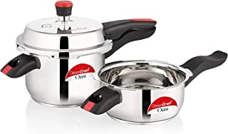 Greenchef Orra Combo Stainless Steel Cookers