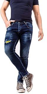 Instinct Jeans Slim Fit Elasticizzati Aderenti Straight Uomo Z96