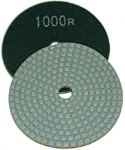 4 Inch Alpha Ceramica Dry Polishing Pad for Natural Stone - 1000 Grit