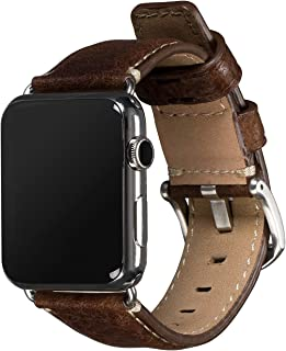 Sena Cases Heritage Leather Watch Band for Apple Watch 42mm - Brown