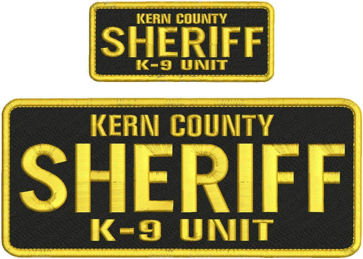 Embroidered security Patch - Patches for Kern Man Women Sheriff County Large-scale sale