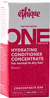 Ethique Hydrating Conditioner Concentrate Bar for Normal to Dry Hair- Bloom - Sustainable Natural Conditioner, Plastic Fre...