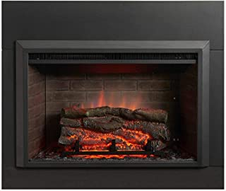 Outdoor Great Room GI-32-ZC Electric Fireplace Insert Zero Clear, 32