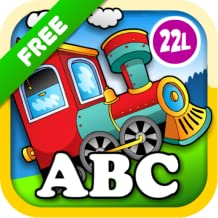 Kids Animal Train: Preschool and Kindergarten Learning Matching and Reading Adventure – ABC First Word Educational Games for Toddler Loves Farm and Zoo Animals & Colors (Abby Monkey® edition) Free