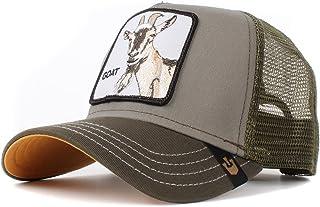 Trucker Cap Goat Beard Olive - One-Size