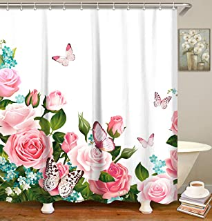 Best shower curtain with roses Reviews