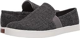 Grey/Black Herringbone Fabric
