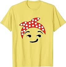 Halloween Emoji Costume Feminist Face Emoticon T-Shirt