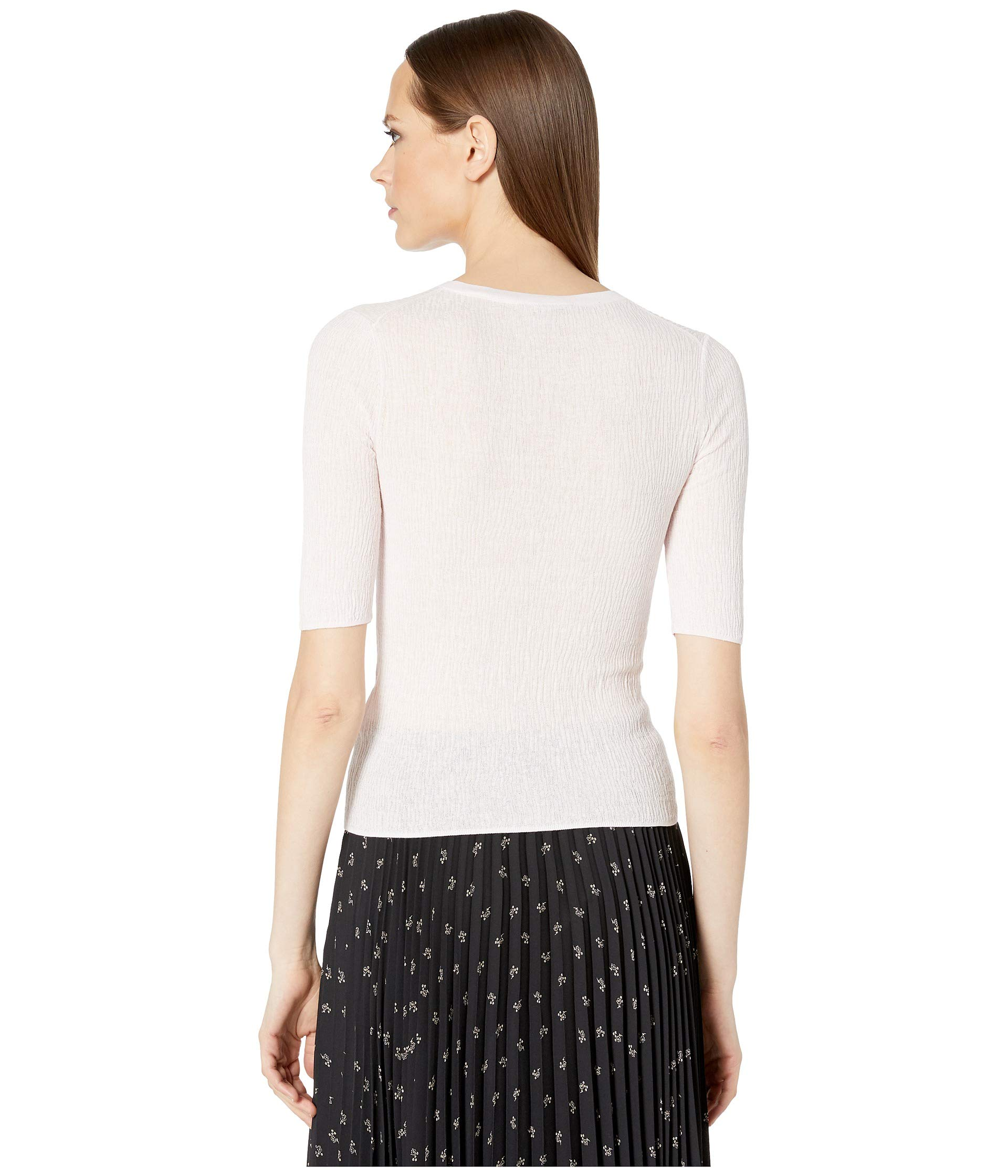 490fcd2e3 Vince Broomstick Pleat Elbow Sleeve at Luxury.Zappos.com