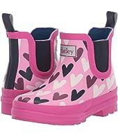 Lovely Hearts Ankle Rain Bootie (Toddler/Little Kid)