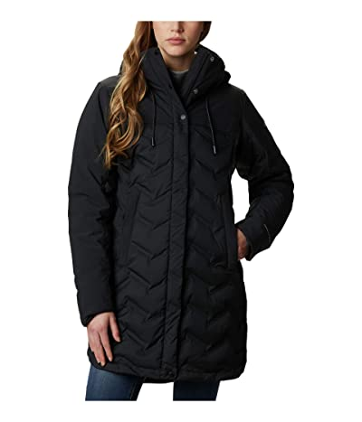 Columbia Mountain Crootm Long Down Jacket (Black) Women