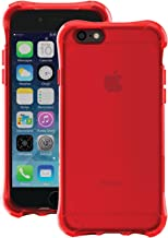 Ballistic iPhone 6 Jewel Case - Retail Packaging - Ruby Red
