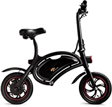 Goplus Folding Electric Bike 350W Lightweight E-Bike Mini Electric Bicycle Scooter Max Speed Up to 19 MPH with 12.5 Mile Range, Cruise Control System, APP Speed Setting and Headlight