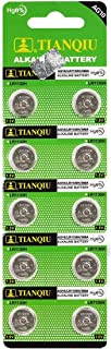 10 Tianqiu AG10 / 189/389 / LR1130 Button Cell Battery Long Shelf Life (Expire Date Marked)
