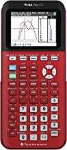 Texas Instruments TI-84 Plus CE Radical Red Graphing Calculator (Renewed) photo