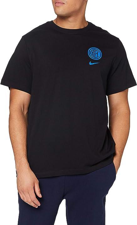 Maglietta inter - t-shirt inter - nike inter m nk tee voice CD1191