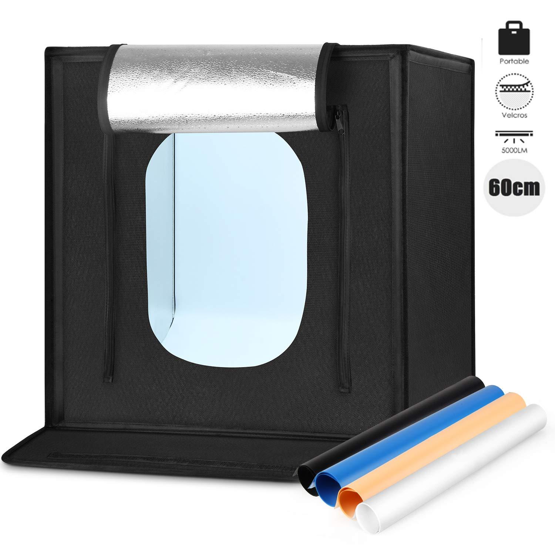 Amzdeal - Caja de iluminación portátil para Estudio fotográfico de ...