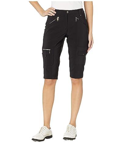 Jamie Sadock 24.5 Airwear Lightweight Hybrid Knee Capris (Jet Black) Women