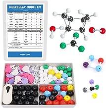 Swpeet 178 Pcs Molecular Model Kit for Inorganic & Organic Molecular Model Teacher and Student Kit - 69 Atoms & 30 Orbitals & 78 Links & 1 Short Link Remover Tool - Science Toys