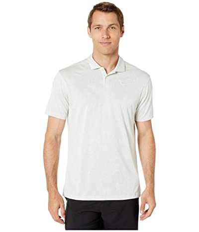 Nike Golf Breathe Vapor Jacquard Polo (White/Pure Platinum/Pure Platinum) Men