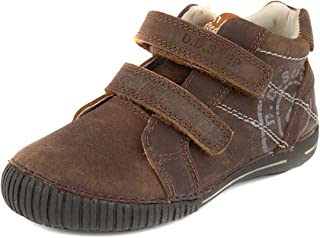 D. D. Step Boys' Trendy Boots, Brown, Genuine Leather (036-9C)