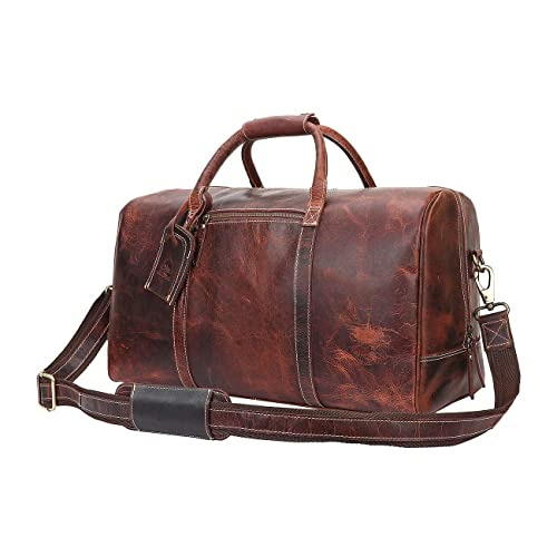 70b5cd924a7c Leather Carry On Bag - Airplane Underseat Travel Duffel Bags by Rustic Town
