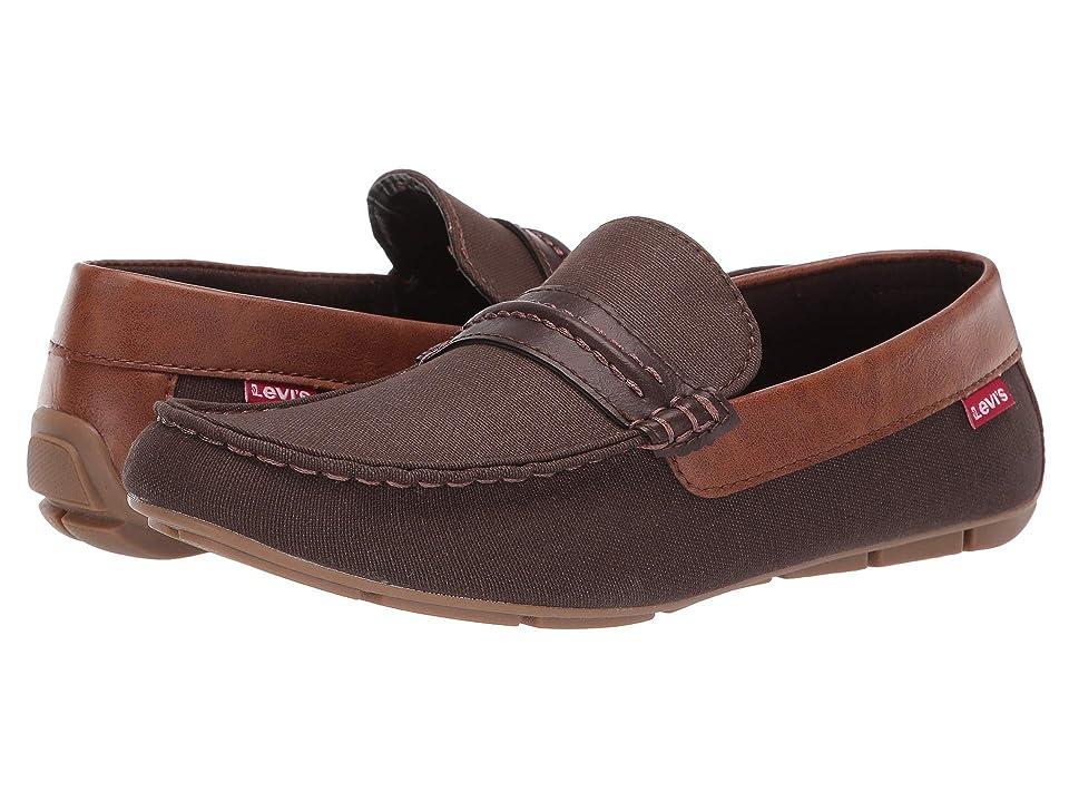 fc8d25cd857 Levi s(r) Shoes Warren Canvas Burnish (Brown Tan) Men s Shoes
