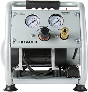 Hitachi EC28M Ultra Quiet (59 DB) Oil-Free Portable 1 gallon Air Compressor